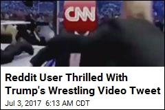 Reddit User Thrilled With Trump's Wrestling Video Tweet