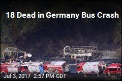 18 Dead in Germany Bus Crash