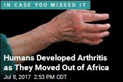 Arthritis Is the Byproduct of Adapting to Cold Climates