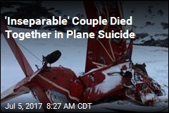 'Inseparable' Couple Died Together in Plane Suicide