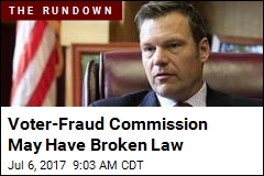 States' Rebuff on Voter Info Is 'Fake News': Kobach