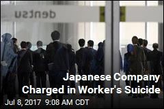 Japanese Company Charged in Worker's Suicide