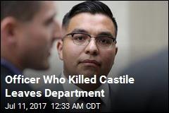 Officer Who Killed Castile Leaves Department