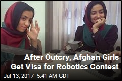 Afghan Girls Finally Granted Visa for Robotics Contest