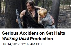 Walking Dead Stuntman on Life Support After 20-Foot Fall