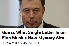 Elon Musk Messes With Our Minds With New Website