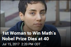 1st Woman to Win Math's Nobel Prize Dies at 40