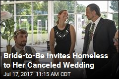 Canceled Wedding Becomes Celebration for Local Homeless