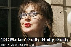 'DC Madam' Guilty, Guilty, Guilty