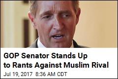 GOP Senator Stands Up for Muslim Opponent on Twitter