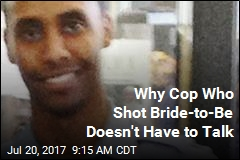 Why Cop Who Shot Bride-to-Be Doesn't Have to Talk