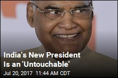 India's New President Is an 'Untouchable'