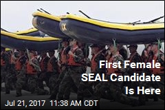 First Female SEAL Candidate Is Here
