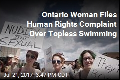 Ontario Woman Files Human Rights Complaint Over Topless Swimming
