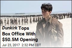 Dunkirk Tops Box Office With $50.5M Opening