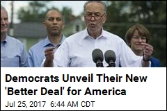 Democrats Unveil Their New 'Better Deal' for America