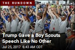 Trump Gave a Boy Scouts Speech Like No Other