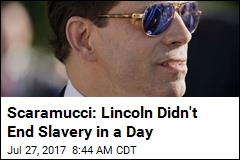 Scaramucci: Health Repeal Like Lincoln's Fight to End Slavery