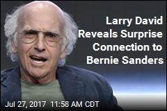 It Turns Out Larry David and Bernie Sanders Are Related