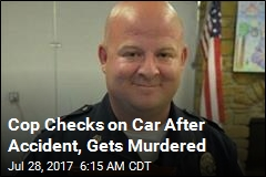 Cop Checks on Car After Accident, Gets Murdered