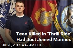 Teen Killed in Ride Malfunction Had Just Joined Marines