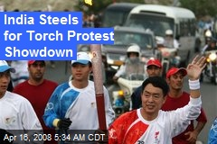 India Steels for Torch Protest Showdown