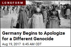 Germany Begins to Apologize for a Different Genocide