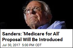 Sanders Promises Single-Payer Healthcare Bill in the Works