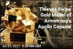 Neil Armstrong's Gold Apollo Replica Stolen