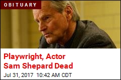 Playwright, Actor Sam Shepard Dead