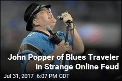 Man Claims Blues Traveler Singer Is Trolling Him