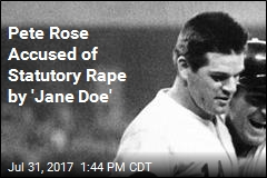 'Jane Doe' Accuses Pete Rose of Statutory Rape