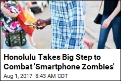 Sorry, Smartphone Zombies: City Bans 'Distracted Walking'