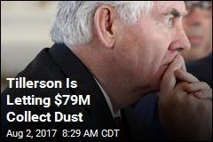Tillerson Hasn't Signed Memos, So $79M Wallows