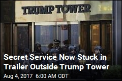 Secret Service Leaves Trump Tower Command Post