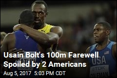 Usain Bolt's 100m Farewell Spoiled by 2 Americans