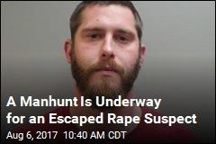 Accused Rapist Escapes Transport Van With Cop's Gun