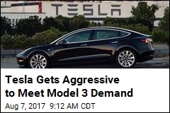 Tesla Is Raising Cash to Meet Model 3 Demand