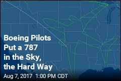 Boeing Pilots Get Creative in Test Flight