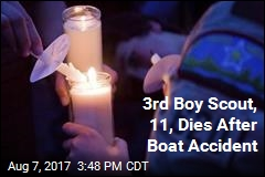 3rd Boy Scout Dies After Boat Accident
