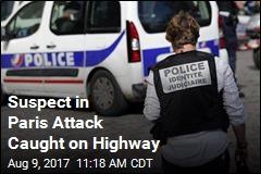 Suspect in Paris Attack Caught on Highway