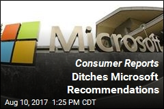 Consumer Reports Just Dissed Microsoft