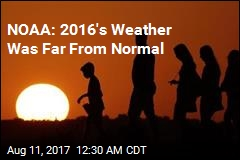 NOAA: 2016's Weather Was Extreme, Worrying