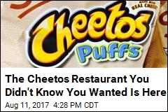 The Cheetos Restaurant You Didn't Know You Wanted Is Here