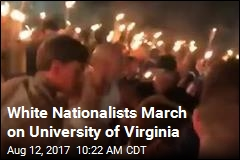 White Nationalists March on University of Virginia