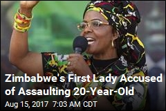Zimbabwe's First Lady Accused of Assaulting 20-Year-Old