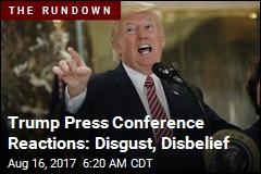 Trump Press Conference Stuns Allies, Critics