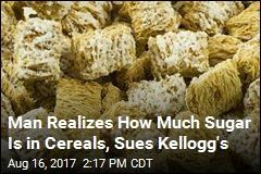 Kellogg's Sued Over Sugar in 'Nutritious' Cereals