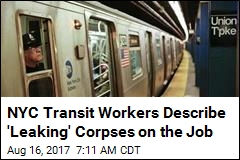 NYC Transit Workers Describe 'Leaking' Corpses on the Job