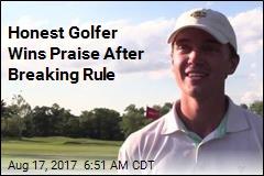 Honest Golfer Wins Praise After Breaking Rule